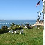 Lawn by bayfront