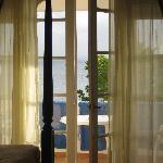 Balcony doors in our room