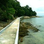 Walkway between Nongsa and Turi