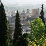 Catedral desde el Albaycín