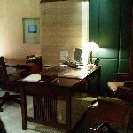 Check-in desk
