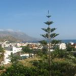 View over Kastelli-Kissamou from room balcony