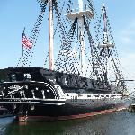 U.S.S. Constitution - near the end of the trail