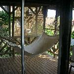Downstairs deck