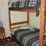 Betten im 4er Dorm