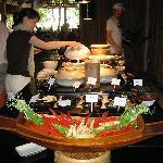 breakfast - asian section
