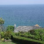 Blick vom Zimmer Richtung Meer