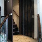 stairs & elevator