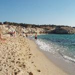 las playas de Naxos, alejadas del centro del pueblo