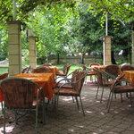 Restaurant Radobolja: garden