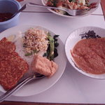 Nasi Pecal, Campur and Peanut Sauce