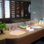 Beautiful clean bathroom