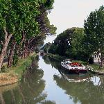 The Canal, which joins the Midi, opposite Les Volets