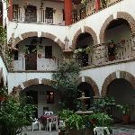 Molino del Rey Central Courtyard