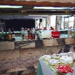 bar area help yourself