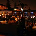 Kozi Bar rooftop bar, 5 mins walk away