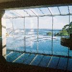 View from the indoor pool