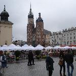 The main square towards the church