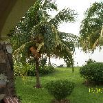 View of lake Volta from the chalet