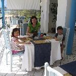 pranzo sulla terrazza