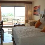 Sea view room at Vanity Hotel Golf