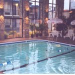 Fantastic indoor heated pool and hot tub!