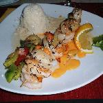 Restaurant Agapanto - Duo (duet of scallops and king prawns, lobster cream and basmati rice.)