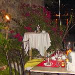 Restaurant Agapanto - A tasteful meal is over in stunning settings.
