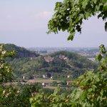 Blick über die Hügel Richtung Norden
