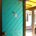 Old Santa Fe style wood doors