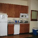 Kitchen 1 bedroom suite