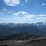 Another toward Yosemite & the Minarets, off the top trail (winding) & Kamakazi (dirt road)