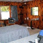Interior of cabin #38