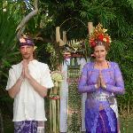 Our Bali wedding