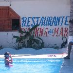 signage by 1st pool
