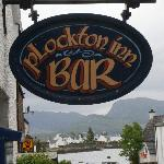 The wonderful Plockton Inn sign - idea from Sarah MacKenzie