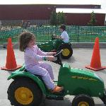 Tractors were a hit