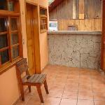 private patio