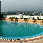 Roof top Swimming heated pool