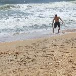 Trying to surf
