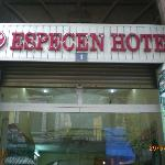 Signage of Especen Hotel