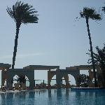 La piscine sous son plus bel angle