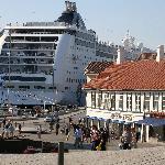 Ship in Stravanger harbour