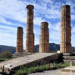 Delphi ruins Temple of Apollo