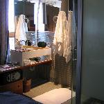 Funky Glass Bathrooms