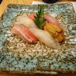 Set menu - assorted nigiri