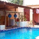 The pool again
