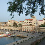Alghero marina.  20 minutes walk from the campsite along the promenade.