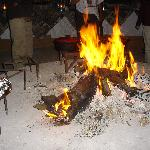 Fire to warm you up after a game drive