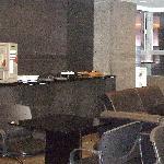 Self serve cafe bar and window
